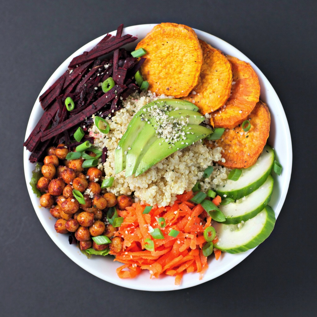 healthy vegan food
