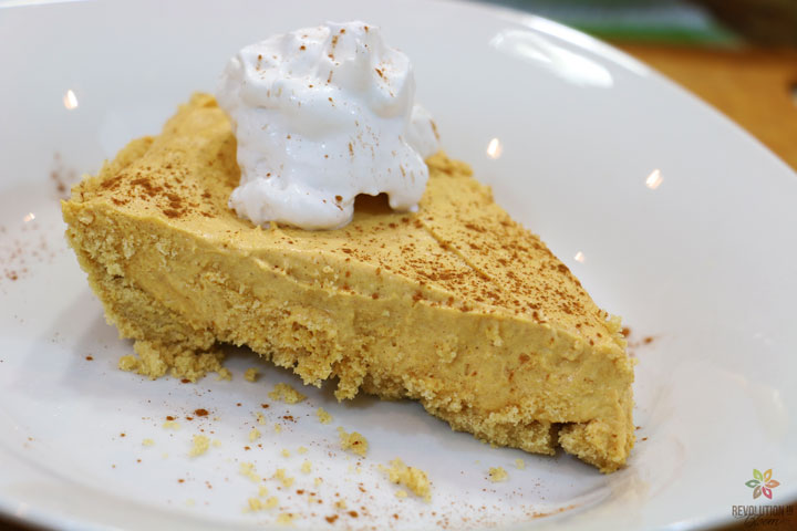 No-Bake Pumpkin Cheesecake - Revolution in Bloom